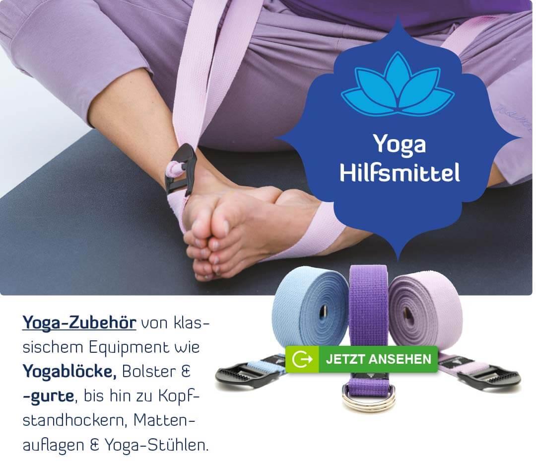 Meditationskissen Meditationsset violett Chakra Yogamatte XL Yoga