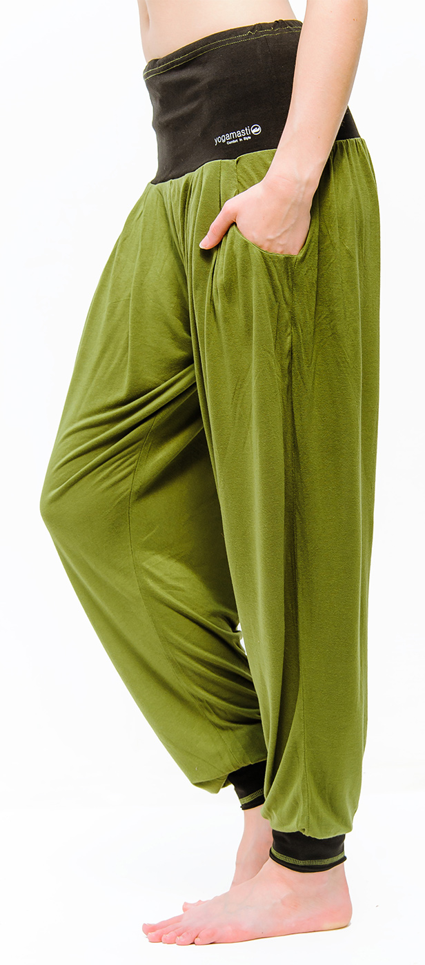 Bright colored yoga pants-4640