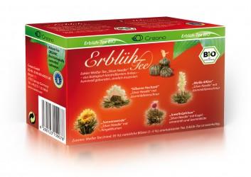 Erblüh-Tee BIO, weißer Tee 4er Pack
