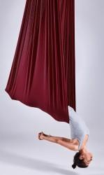 Aerial Yoga Fabric Panel burgundy