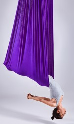 Aerial Yoga Fabric Panel purple jewel