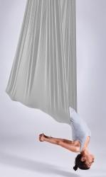 Aerial Yoga Fabric Panel silver streak
