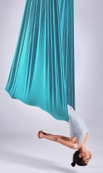 Aerial-Yoga-Tuch turquoise sizzle
