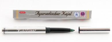 Edler ayurvedischer Kajal - Khojati waldgrün