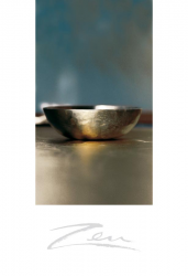 Zen-Briefkarten Klangschale