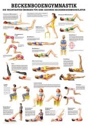 Beckenbodengymnastik Poster