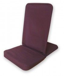 Silla de meditación plegable - Folding Backjack burgundy
