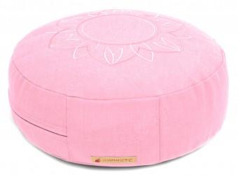 Meditation cushion 'Darshan Neo' - Flower, round rose