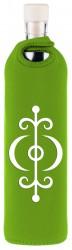 Flaska Trinkflasche SPIRITUAL Neopren - 0,75 l grün - Gesundheit