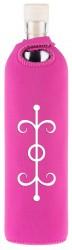 Flaska Trinkflasche SPIRITUAL Neopren - 0,75 l rosa - Liebe