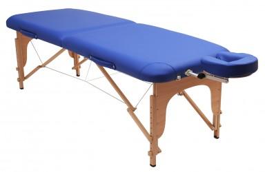 Massageliege pro blau