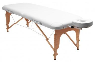 Massageliege basic weiß