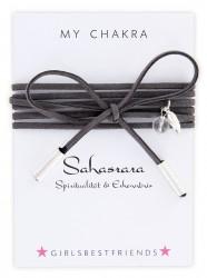 Halsband MyChakra Choker Sahasrara