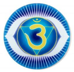 Chakra-Glasuntersetzer Stirn-Chakra