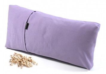 Yoga Kissen - klein Dinkelspelz/flieder