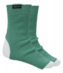 Yoga-Socken emerald green - Wolle
