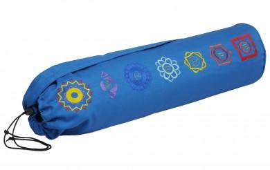 Yogatasche more than a bag chakra - blue