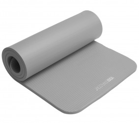 Fitness mat gym – 15 mm grey