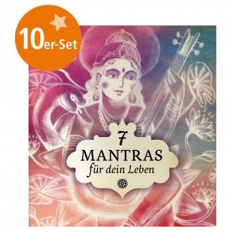 """10er Set Mini-Heft """"7 Mantras für dein Leben"""""""