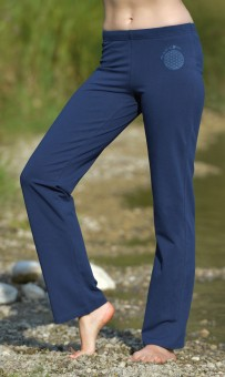Wellnesshose - dunkelblau L