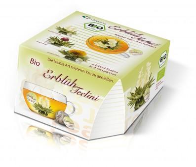 Erblüh-Teelini BIO, weißer Tee 6er Box