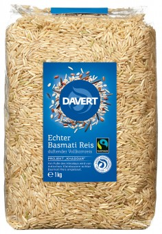 Bio Echter Basmati Reis, braun (Naturreis) 1 kg