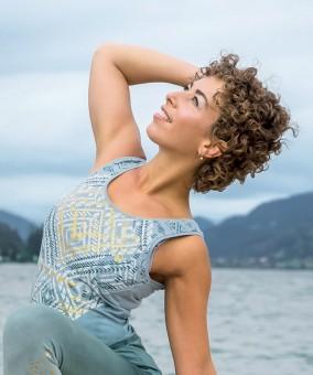 Yoga-Top - Bakti, green/smaragd XS