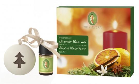 Geschenkset Glitzernder Winterwald