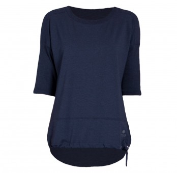 Yoga-Shirt Sara - navy