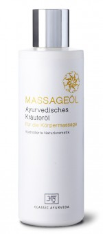 Ayurvedisches Massageöl, 200 ml