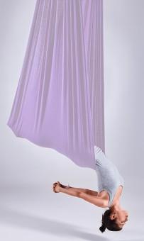 Aerial-Yoga-Tuch lavender ice