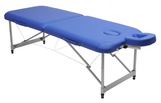 Massageliege alu - light