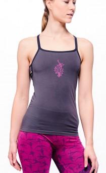 "Yoga-Top ""Ananda"", grey L/XL"