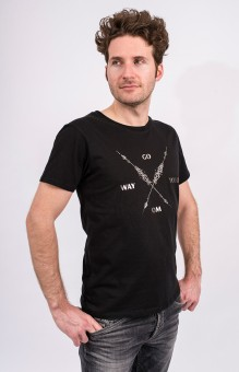 "Shirt ""Arrow Warrior"", men - black S"