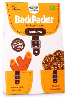 Bio Backpacker Kurkuma, 80 g