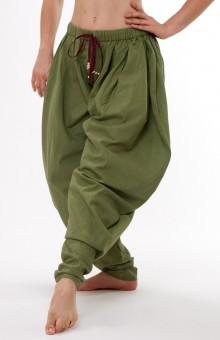 Baggy Churidaar yoga pant - olive