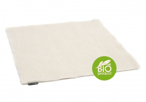 Bio Futon/Meditationsunterlage naturweiss - 100 cm x 100 cm