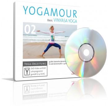 Basic Vinyasa Yoga von YOGAMOUR (DVD)