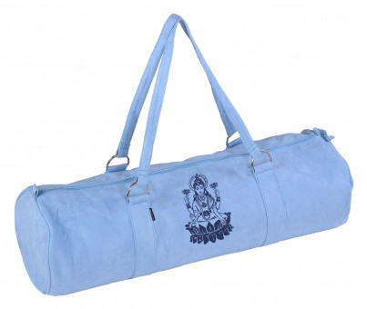 Yoga carrybag style - zip - extra big - velour - art collection - 80 cm