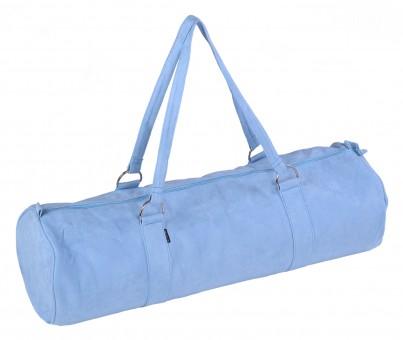 Yogatasche yogibag® style - zip - extra big - velour - 80 cm blue