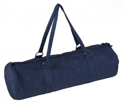 Yogatasche yogibag® style - zip - extra big - velour - 80 cm dark-blue