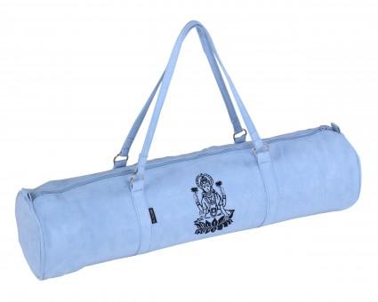 Yogatasche yogibag® style - zip - velour - art collection - 69 cm blue - lakshmi