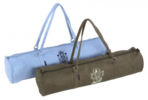 Yoga carrybag style - zip - velour - art collection - 69 cm