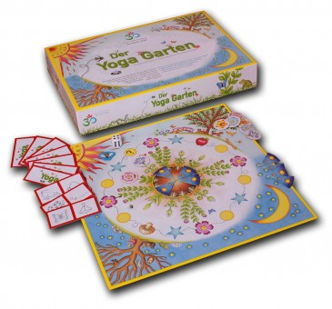 Der Yoga Garten - Kinderyoga Brettspiel