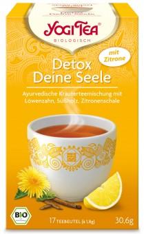 Bio Detox deine Seele mit Zitrone Teemischung, 30,6 g
