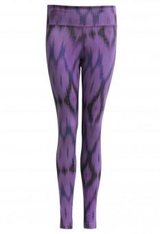 """Yogi Leggings """"Devi"""" – Ikat purple"""