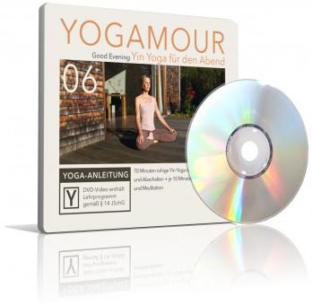 Good Evening - Yin Yoga für den Abend (DVD) von YOGAMOUR
