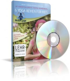 6 Yoga-Reihen für Kids von R. Herrmann, A. Hahnemann (DVD)