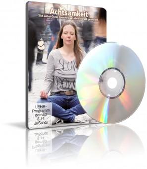 Achtsamkeit von Sandra Baggeler (DVD + CD)