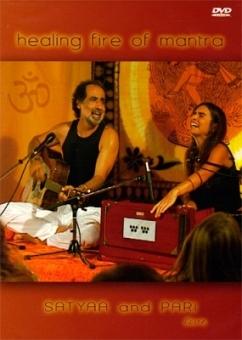Healing fire of Mantra (live) von Satyaa and Pari (DVD)